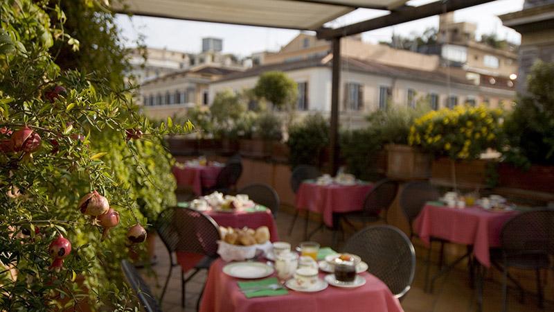 Hotel con terrazza Roma