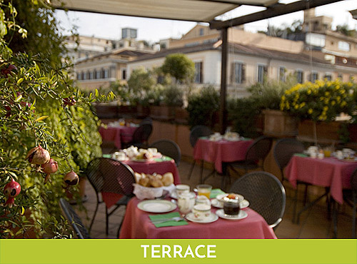 Hotel Columbia Roma Terrazza