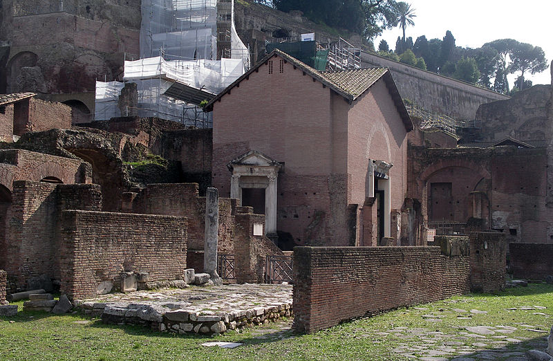 External view of Santa Maria Antiqua