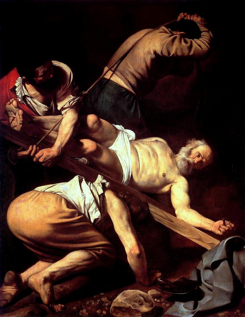 Caravaggio, Crocifissione di san Pietro