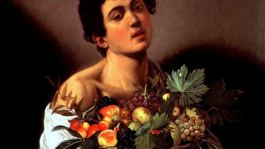Caravaggio, Fanciullo con canestro di frutta