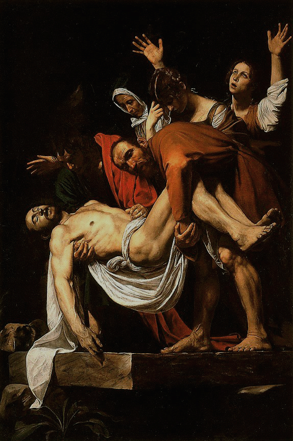 Caravaggio, La Deposizione