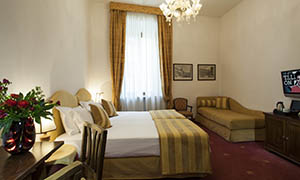camere hotel Columbia Roma