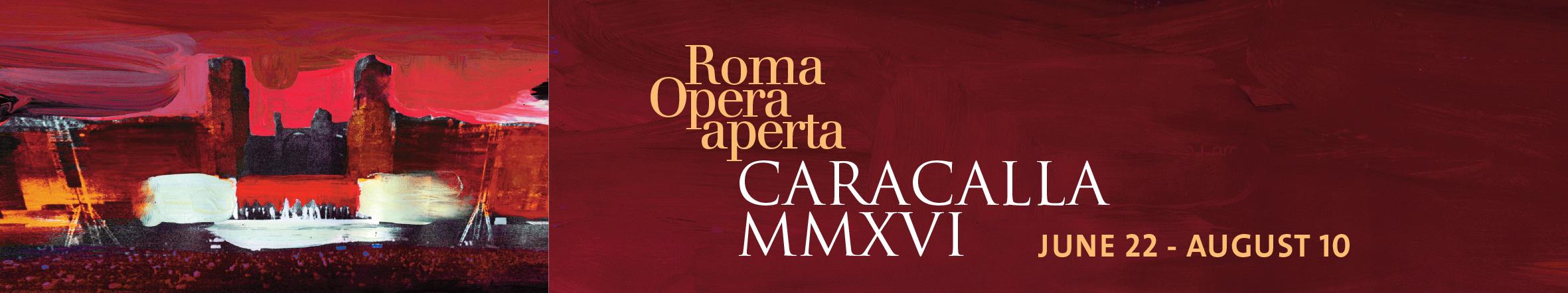 Caracalla Summer 2016 banner