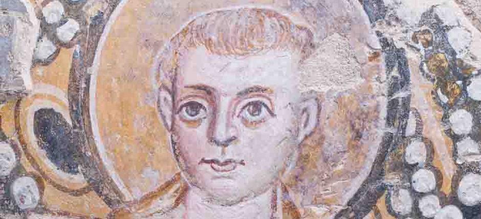 Fresco in Santa Maria Antiqua