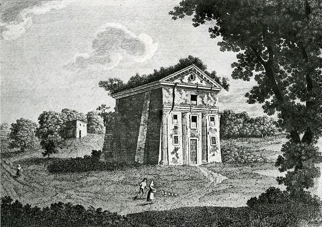 Sant'Urbano in una incisione del XVIII secolo