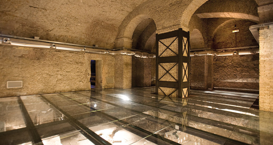 domus romane a palazzo valentni