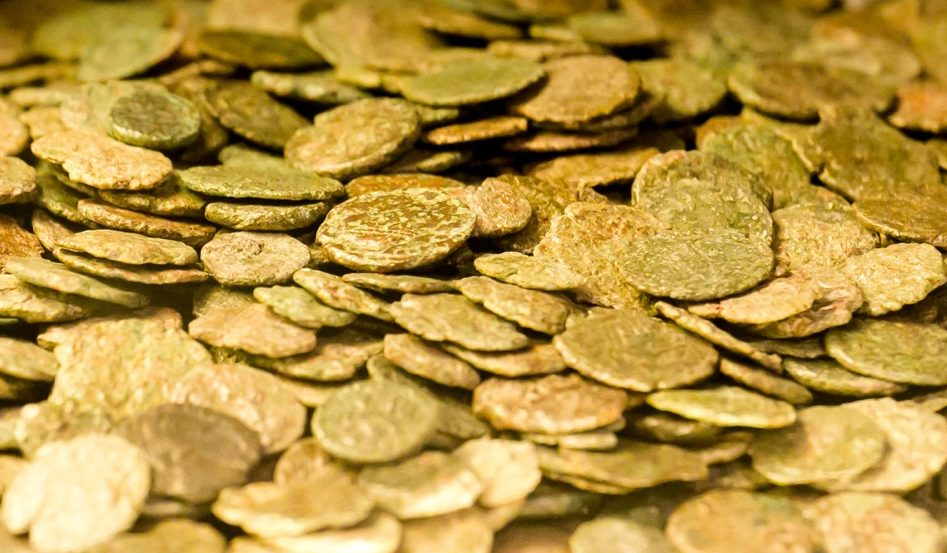 copper coins nummi and asse