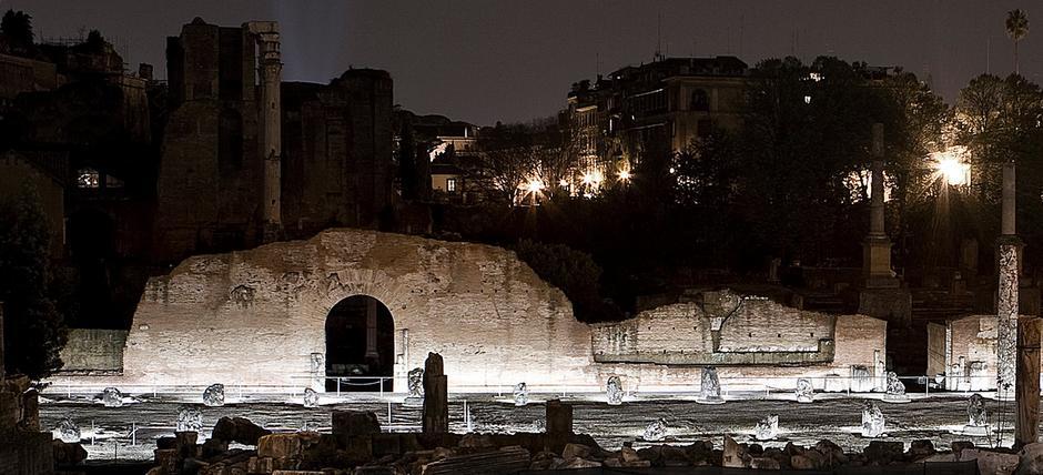 La Luna al Foro Romano