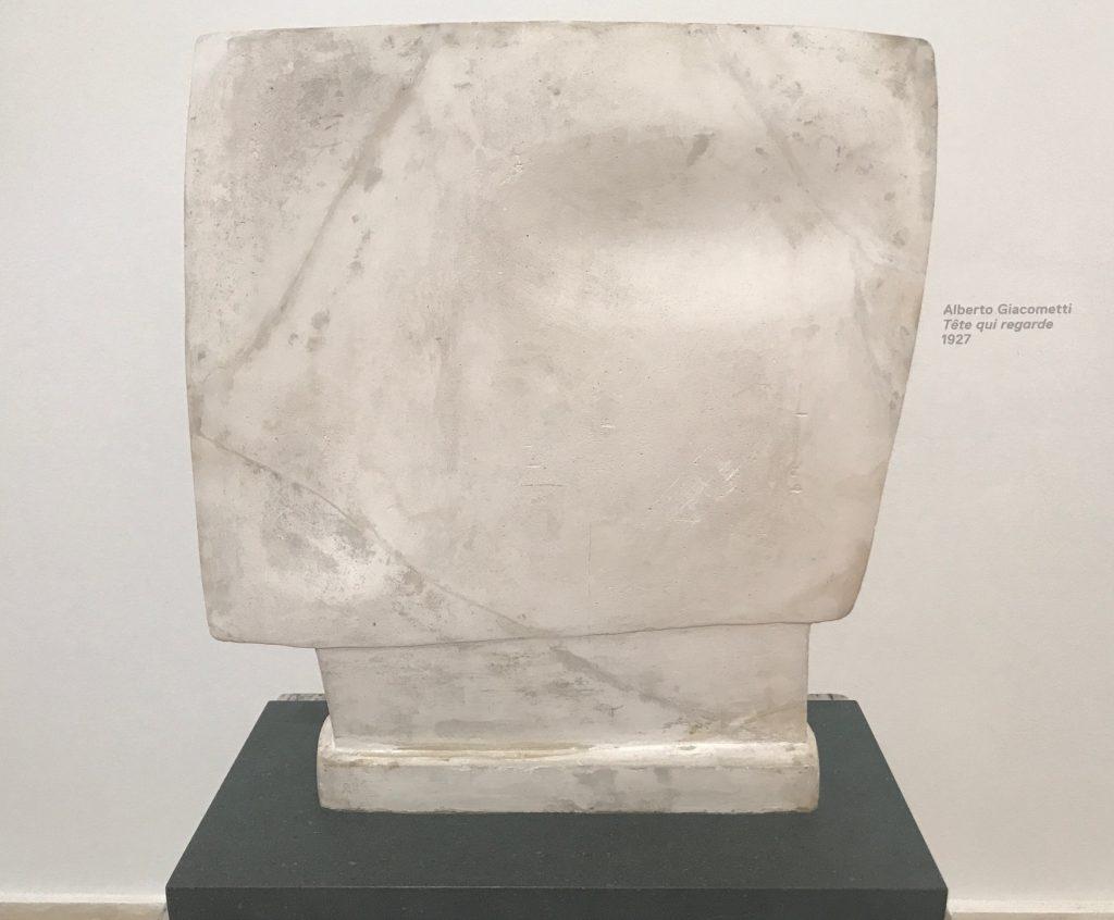 Alberto Giacometti_Téte qui regard _1927