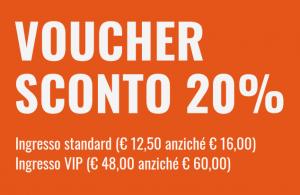 20% Voucher Taste of Roma