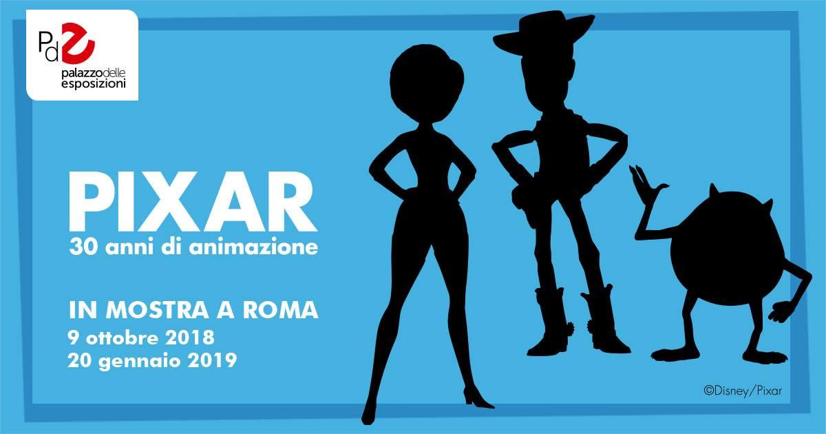 Pixar mostra Roma Palazzo delle Esposizioni